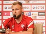 Reprezentacja Polski przygotowuje się do meczu ze Szwecją. Tymoteusz Puchacz: Jedyne markery widziałem podczas podpisywania piłek [zdjęcia]