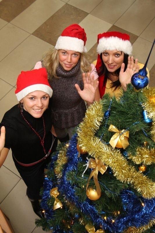 Na klubowym opłatku białostockie siatkarki były w doskonałych humorach. – Będziemy miały trochę czasu dla najbliższych – cieszyły się i życzyły sobie spokojnych i szczęśliwych świąt.