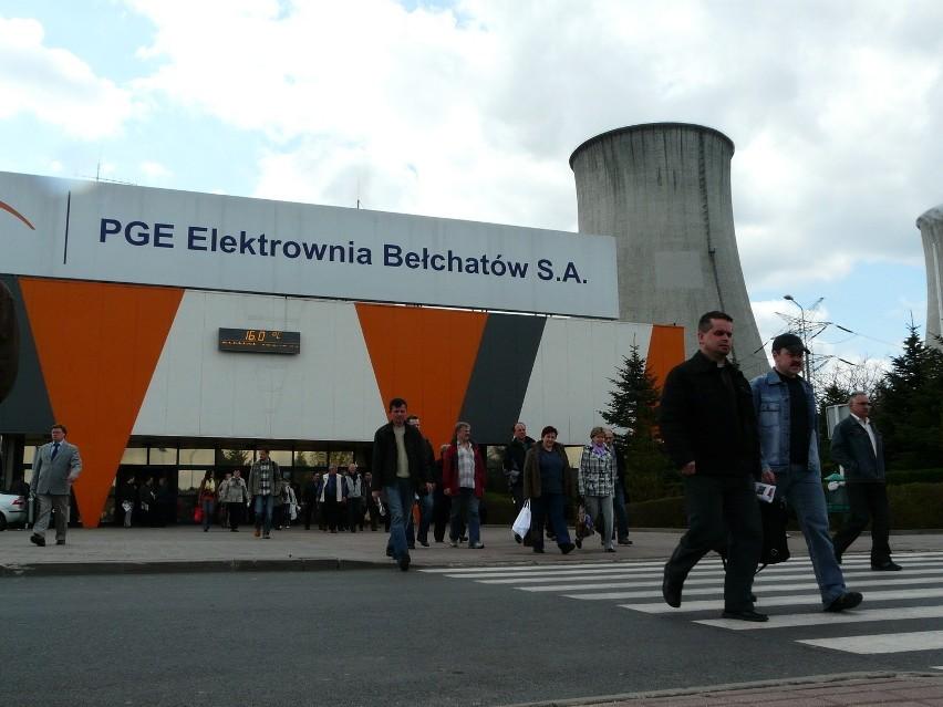 Mieszkańcy Bełchatowa domagają się 166 mln zł od PGE i Skarbu Państwa