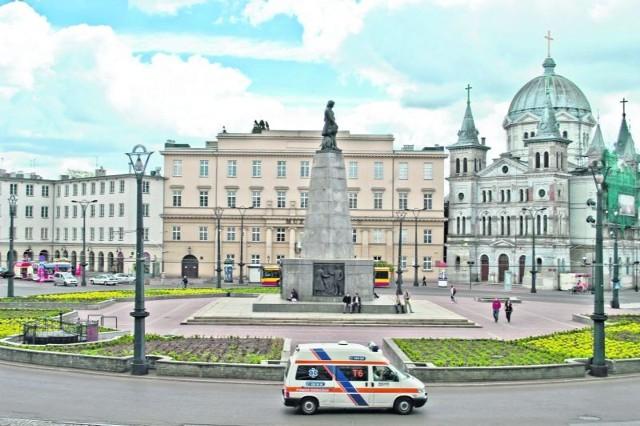 Najczęściej uwiecznianym na zdjęciach miejscem w Łodzi jest pl. Wolności.