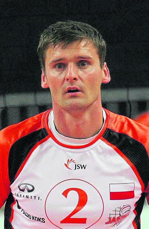 Krzysztof Gierczyński  już drugi sezon gra w Jastrzebiu