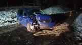 Wypadek 27.12.2020 r. między Turskiem a Darnowem. Jedna osoba trafiła do szpitala