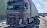 Kierowca ciężarówki rejestrował czas pracy na konto innego. Otrzymał wysoki mandat