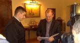 Radosław Komorek nagrodzony przez prezydenta Szczecina. Bohater pracuje w straży od niedawna