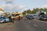 Wypadek na ul. Szczecińskiej w Słupsku. Mężczyzna w szpitalu [ZDJĘCIA]