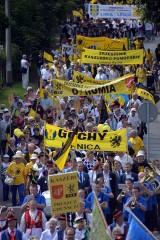 XVI Zjazd Kaszubów. Uczestnicy imprezy spotkali się w Pruszczu Gdańskim [ZDJĘCIA]