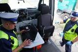 Policjanci sprawdzali, czy spaliny są bezpieczne dla środowiska [ZDJĘCIA, WIDEO]