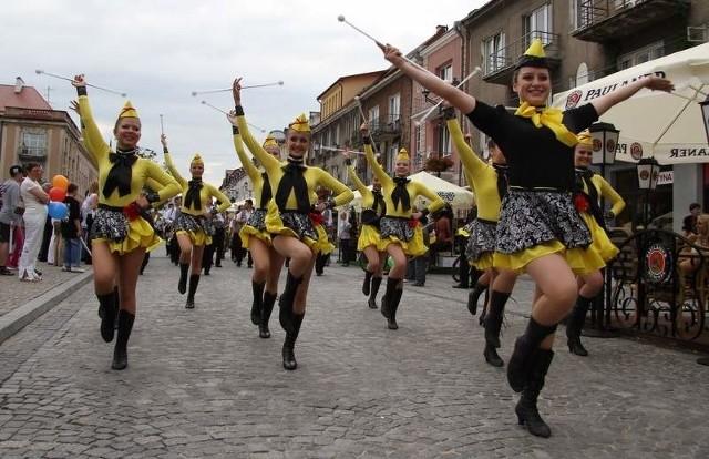 Orkiestry dęte wystąpiły na Rynku Kościuszki.