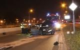 Nocny pościg w Katowicach ze strzelaniną ZDJĘCIA Postrzelony w głowę 43-latek w śpiączce