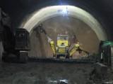 Dobra wiadomość z budowy zakopianki. W październiku będzie wydrążona cała jedna nitka tunelu [GALERIA]