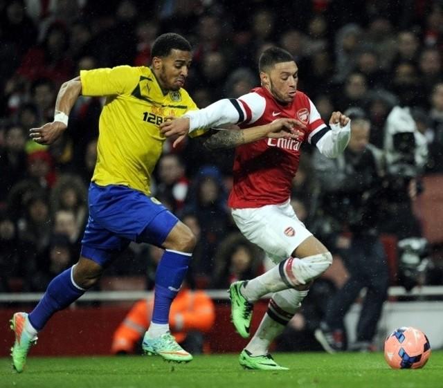 Arsenal - Sounthampton już dziś. N/z mecz Arsenal vs Coventry City