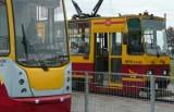 Na ul. Zachodniej stoją tramwaje
