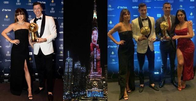 Robert Lewandowski uznany Piłkarzem 2020 roku na gali Globe Soccer Awards w Dubaju