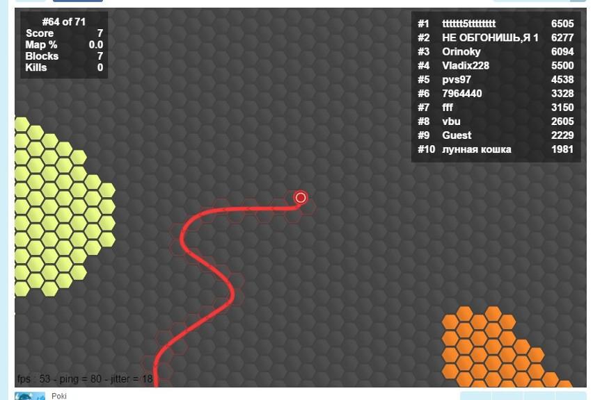 Superhex.io, czyli strategiczno-zręcznościowa gra z serii .io
