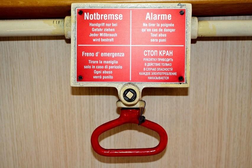 Nieuzasadnione użycia hamulca bezpieczeństwa...