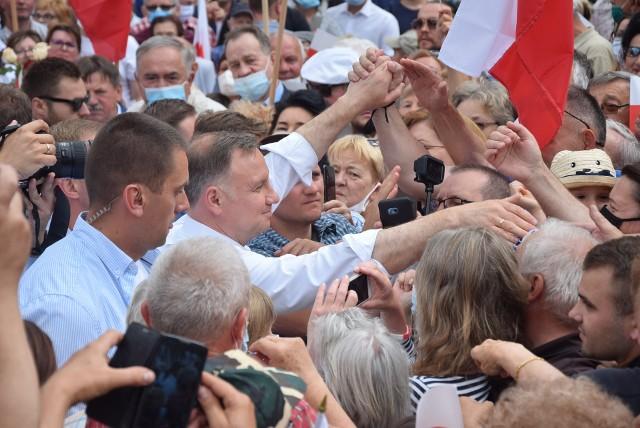 Andrzej Duda w Stargardzie
