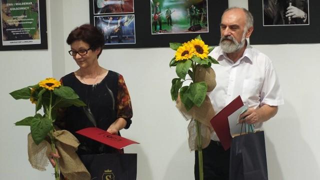 Podczas wystawy zostały zaprezentowane obrazy i fotografie Ewy oraz Waldemara Gołdzińskich