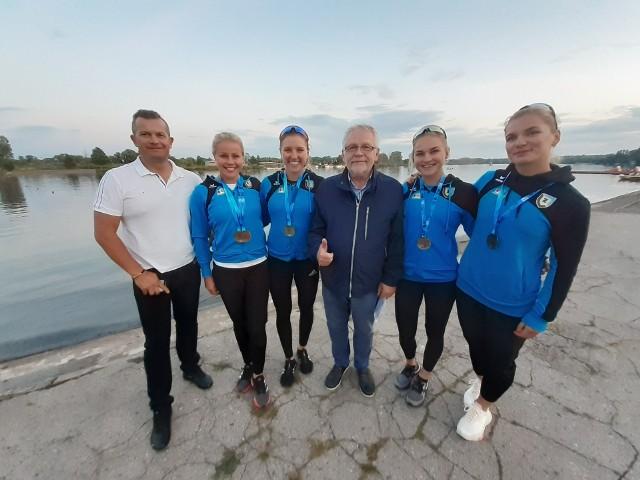 Zawiszanie mają powody do radości po mistrzostwach Polski