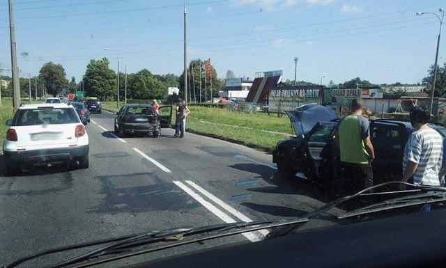 Do wypadku doszło na ul. Walczaka w Gorzowie Wlkp.