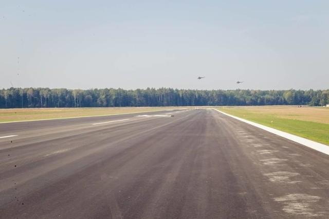 Tak wygląda pas startowy na Krywlanach.