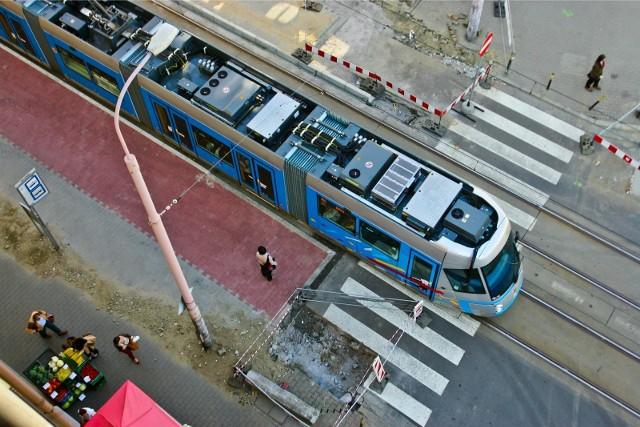 Tak wygląda przystanek wiedeński na Glinianej