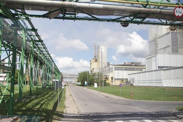 Saletra amonowa jest składowana we Włocławku, w procesie produkcji wykorzystuje ją Anwil SA