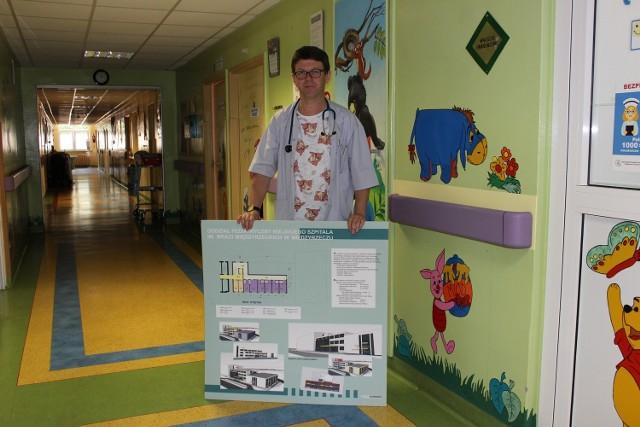 Dr Tomasz Jarmoliński obawia się, że bez inwestycji szpital może przestać istnieć.