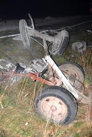 W wypadku w okolicach Ostroleki zginąl 12-letni chlopiec