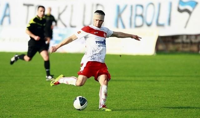 Łukasz Staroń w tym sezonie III ligi zdobył już cztery gole.
