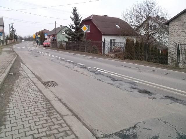 Droga 791 w Niesułowicach