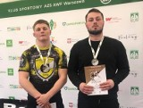 Dwa medale zapaśników Czarnych Połaniec na Akademickich Mistrzostwach Polski w Warszawie