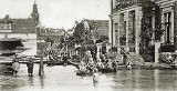 KROSNO ODRZAŃSKIE: Jak kiedyś wyglądała powódź w mieście? Pokazuje Paweł Widczak z Crossen an der Oder (ZDJĘCIA)