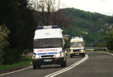 Czołowe zderzenie aut na szosie krakowskiej