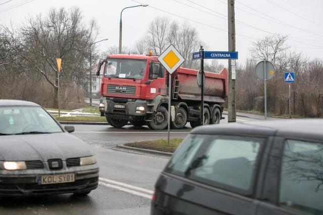 Skrzyżowanie Centalnej i Sołtysowskiej to newralgiczny punkt Czyżyn