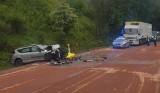 Kulisy śmiertelnego wypadku na DK8. Kierowca z kartą innego kierowcy (ZDJĘCIA)