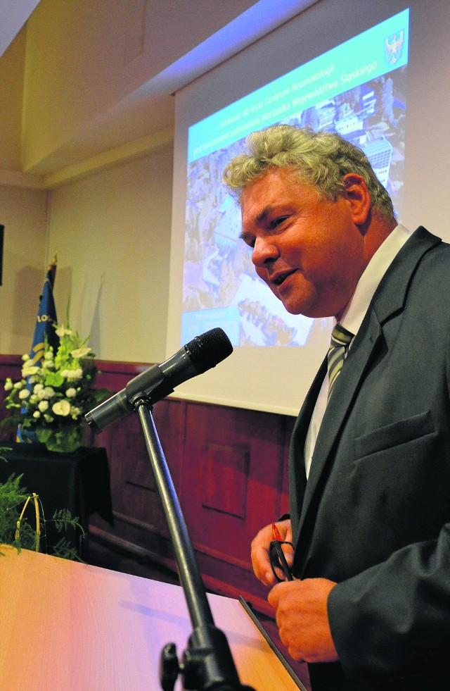 Lech Wędrychowicz, prezes Śląskiego Centrum Reumatologii