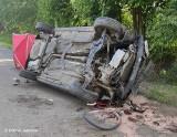 Teolin. Rowerzystka zginęła po zderzeniu z volkswagenem