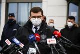 """Wojewoda małopolski o pandemii koronawirusa w Małopolsce: """"Bez wątpienia jesteśmy w oku cyklonu"""""""
