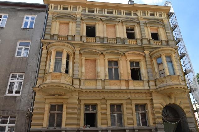 Pierwszą fazę renowacji ma za sobą fasada willi HilaregoMajewskiego. To dopiero początek jej generalnego remontu.