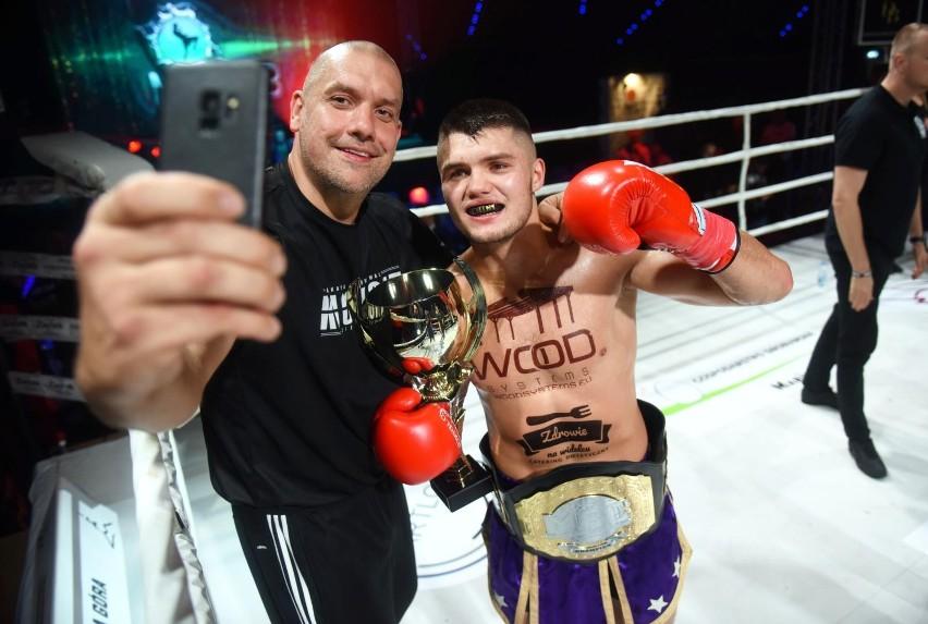 Kacper Frątczak, kickbokser ASW Knockuot Zielona Góra, w...