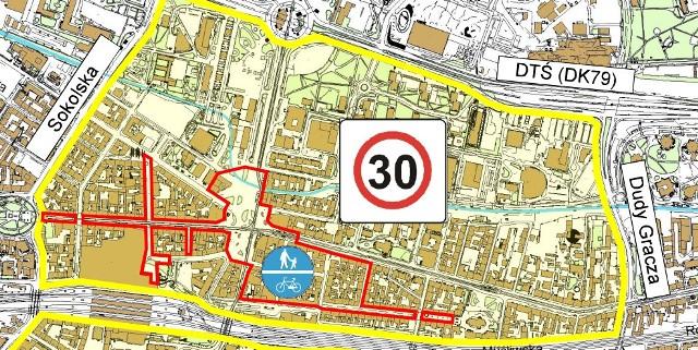 W Katowicach powstanie strefa ograniczonej prędkości do 30 km/hh