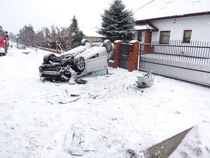 W wypadku poszkodowany został rzecznik częstochowskiej straży pożarnej.