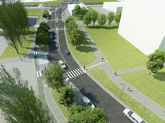Na przebudowanej ul. Rydzowej powstanie 75 miejsc parkingowych.