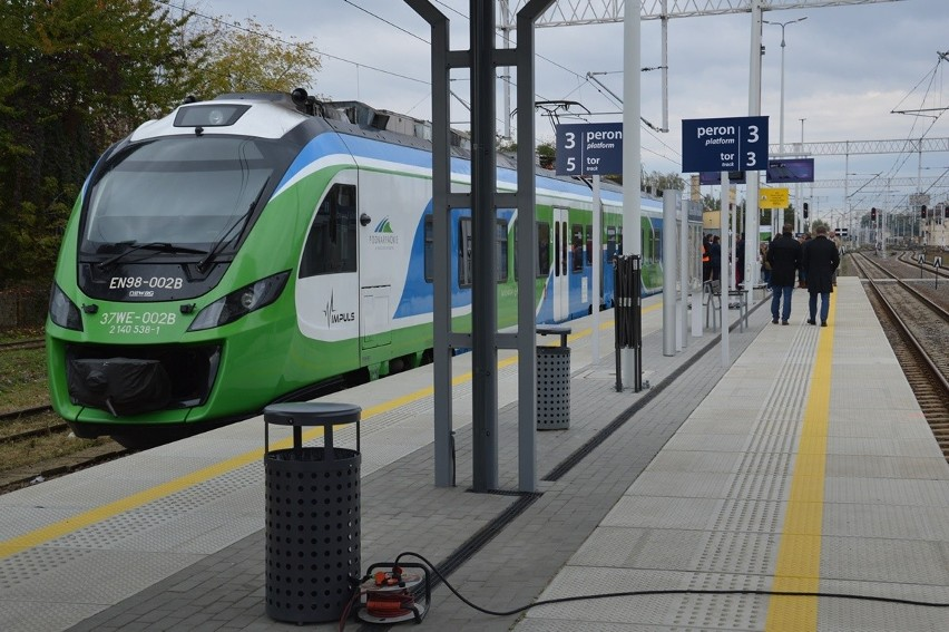 Odnowione perony na dworcu kolejowym w Stalowej Woli - Rozwadowie