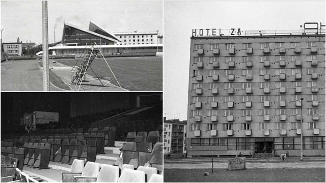 Tak 50 lat temu wyglądały Centrum Sztuki Mościce i hotel Cristal Park. Pół wieku temu oddawano do użytku