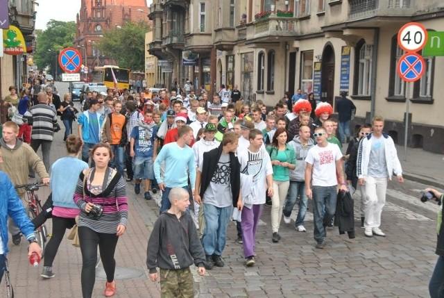 Marsz w Grudziądzu odbył się pierwszy raz. Organizatorzy zapowiadają kolejne pochody
