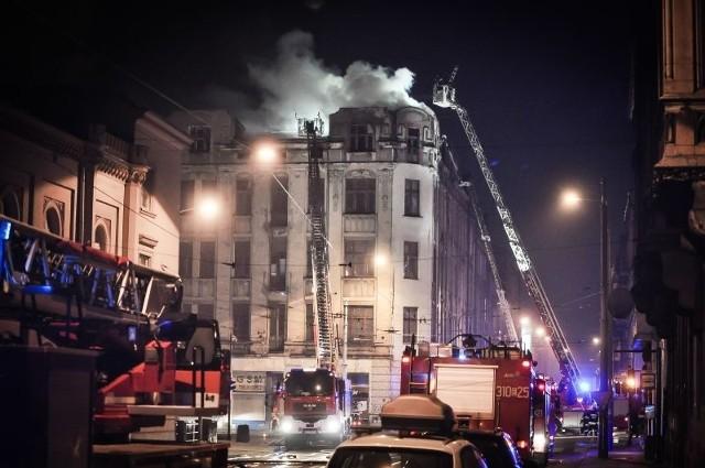 Tragiczny pożar w kamienicy u zbiegu ulic Gdańskiej i Legionów