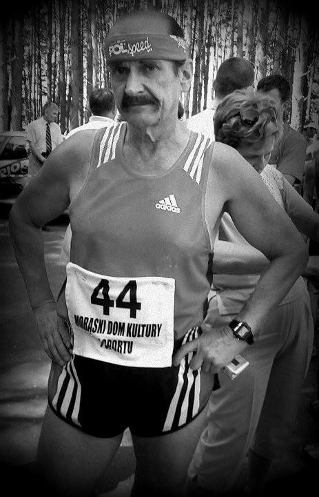 Jerzy Stawski, jeden z symboli  sportu i rekreacji w naszym regionie.
