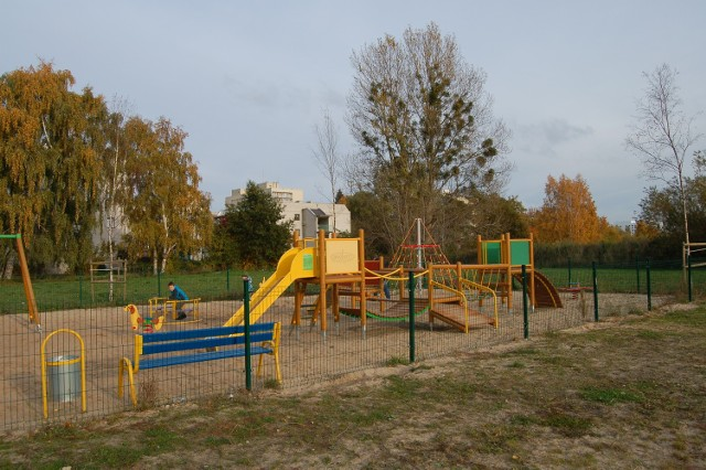 Sopockie Błonia są często odwiedzane przez mieszkańców.