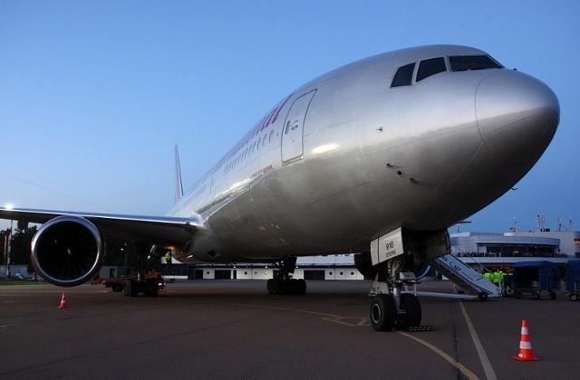 Rozmiary Boeinga 777 robią wrażenie.